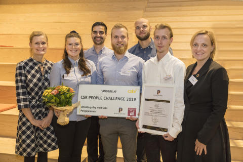 Erhvervsakademi Aarhus vinder CSR People Challenge 2019