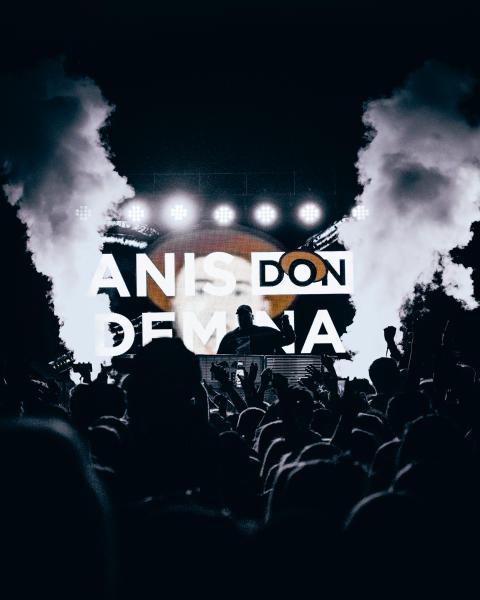 Anis Don Demina LIVE-bild (från Summer on 2019)