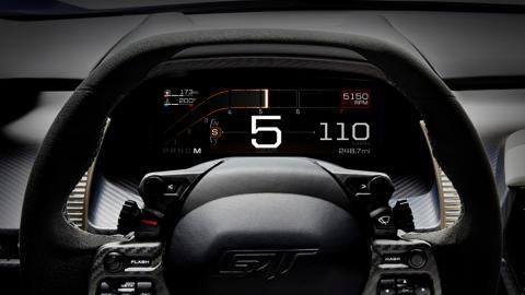 Ford GT Instrumentpanel - Sport Mode