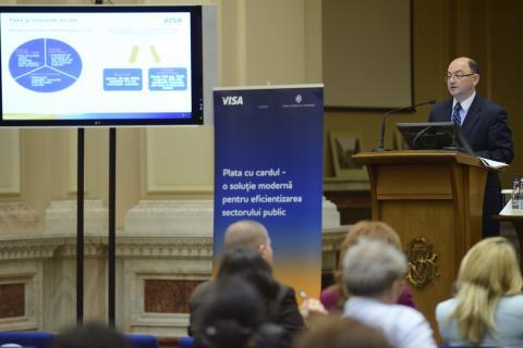 Plata cu cardul – o soluţie modernă pentru eficientizarea  sectorului public - ediția a II-a -
