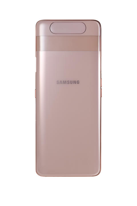 Galaxy A80_Angel_Gold_back_no_camera