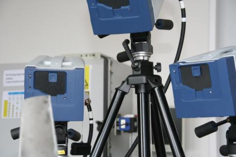 Fachmesse Sensor + Test 2016: TH Wildau präsentiert optisches Vermessungssystem sowie Labor für Maschinendynamik und lärmarme Konstruktion