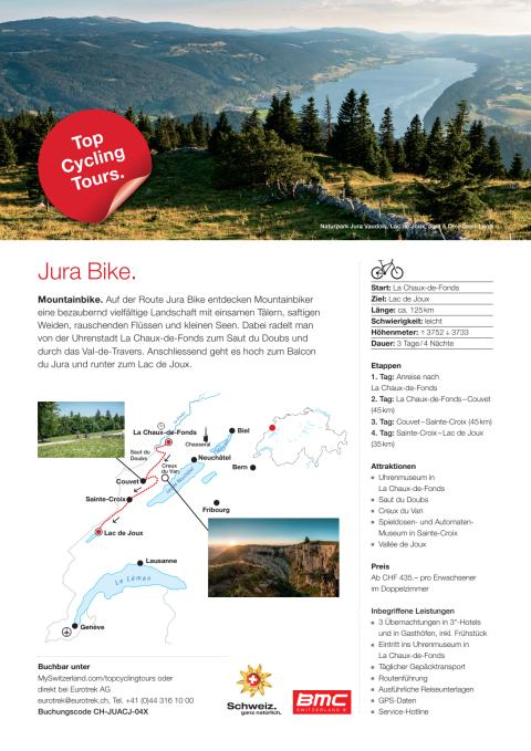 Fact Sheet Top Cycling Tour Jura