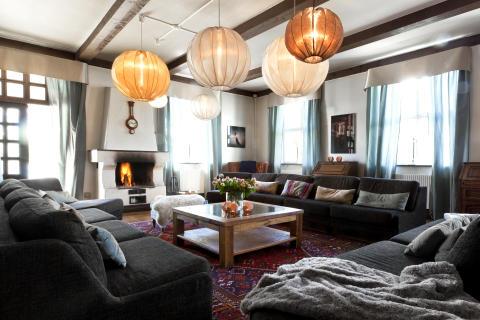 Living room på Villa Mälargården