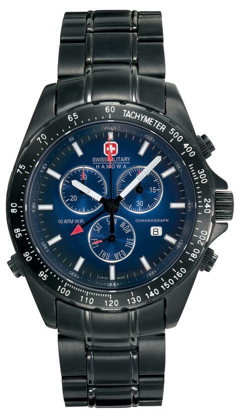 Sveitsisk klokkekvalitet på sitt beste fra Swiss Military Hanowa