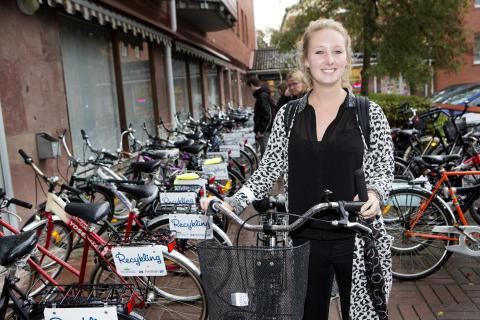 Recykling – när cyklar får nytt liv