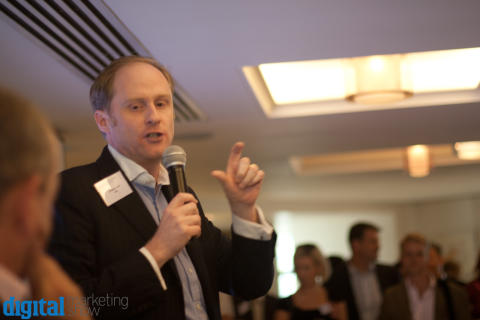 Andrew Grill at the DMS Launch