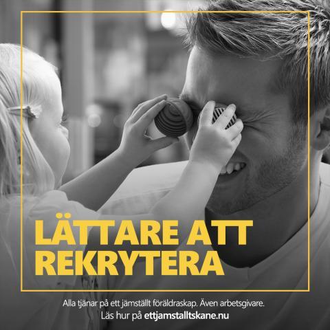 Länsstyrelsen Skåne lanserar ett stöd för arbetsgivare att arbeta med jämställt föräldraskap