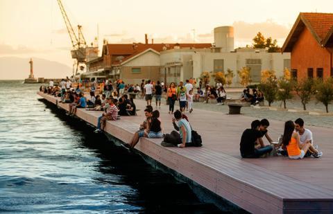 September - Thessaloniki, Grekland