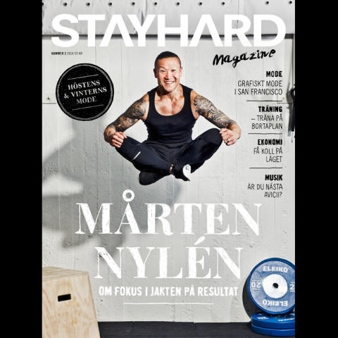 Stayhard lanserar Stayhard Magazine- det tionde numret i ordningen.