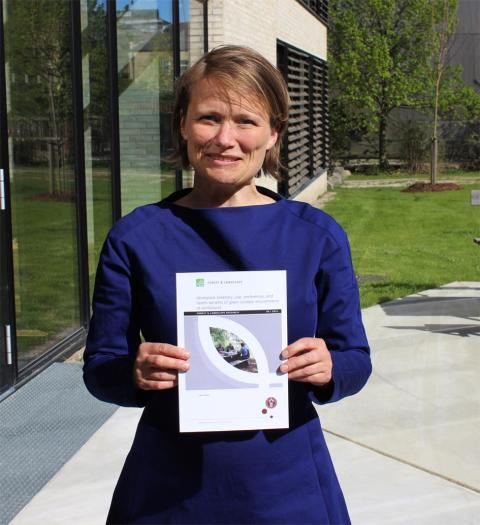 Grønne løsninger til reducering af stress - Ny forskning hos Arkitema og Skov & Landskab