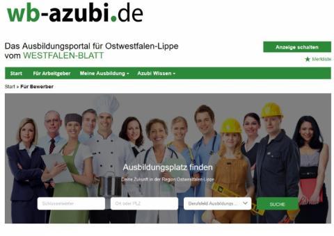 Neues Ausbildungsportal für Ostwestfalen-Lippe