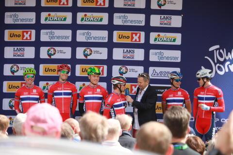 Landslaget under Tour of Norway 2016