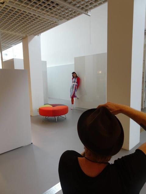Fotografering av utställningen Spect:rum 1