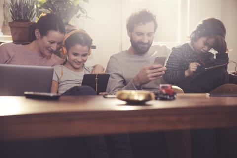 10 000 hushåll får tillgång till Telias tv- och bredbandstjänster via Övik Energis fibernät