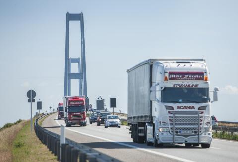 Trafikken på Storebælt stiger fortsat, men resultat af primær drift er faldet