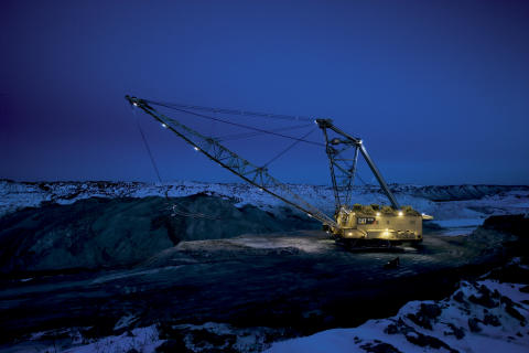 Caterpillar 8750 Dragline