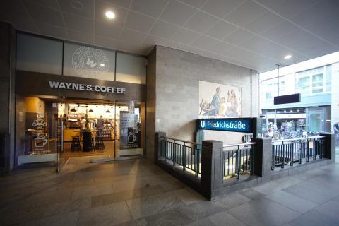 Wayne's Coffee har öppnat på Berlins främsta shoppinggata