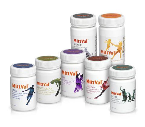 MittVal - vitaminer och mineraler för hela livet
