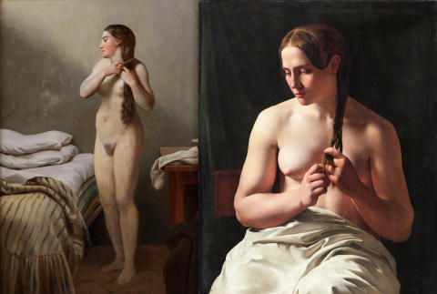 ​New acquisitions: Two nudes and an interior by Eckersberg and L.A. Smith