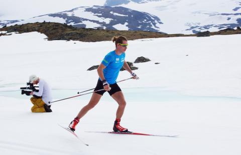 Erlend Bjøntegaard på Sognefjellet