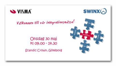 Swinx visar fakturaskanning tillsammans med Visma i Göteborg