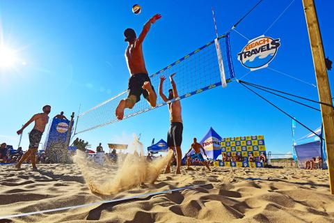 Europas största beachvolleyevenemang i Halmstad