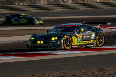 Aston Martin Racing vinder FIA WEC-titler med Dunlop