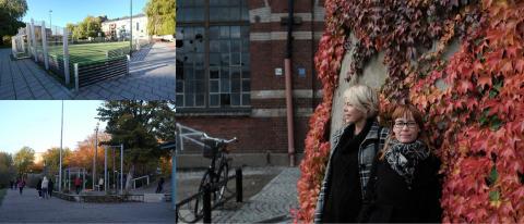 Emma Pihl och Åsa Samuelsson på Nyréns Arkitektkontor är projektledare för Equalizer - ett forsknings- och utvecklingsprojekt för jämställda offentliga platser som drivs i tätt samarbete med Malmö stad, Lunds Universitet och Malmö högskola