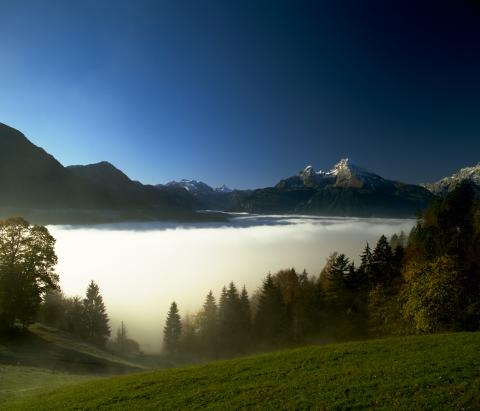 Berchtesgadener Land i Bayern