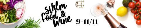 Många spännande aktiviteter på Sthlm Food & Wine