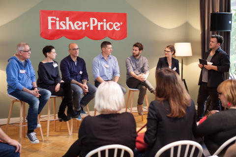 Fisher-Price Elternbrunch 2016_Diskussionsrunde