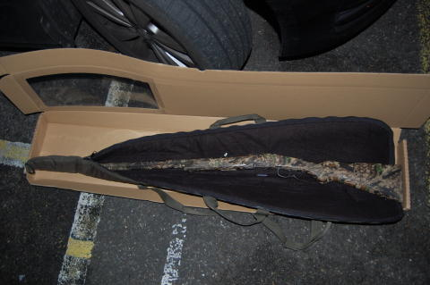 A firearm recovered as part of Operation Kestrel - the firearm was recovered in Ilford Lane, Ilford.