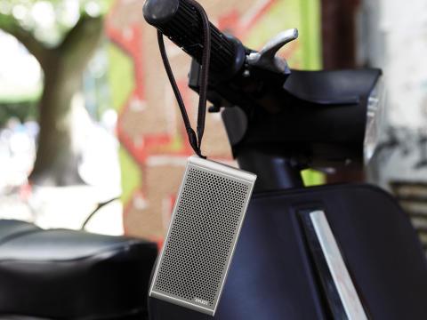 Musik på farten: Loewe lancerer bærbar Bluetooth højttaler belagt med ægte guld
