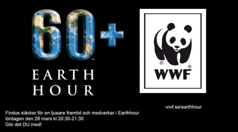 Findus deltar i Earth hour
