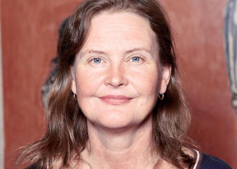 Patineraren Inga Lindén, en av årets stipendiater av Teaterförbundet för scen och film