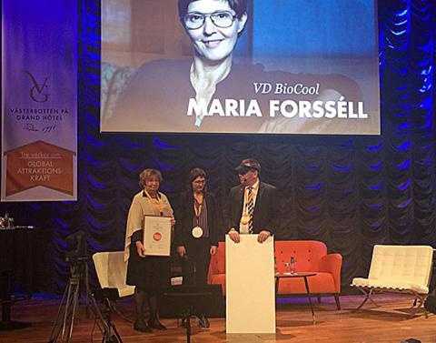 BioCool vann Årets Grandpris