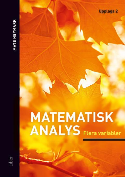 Matematisk analys Flera variabler