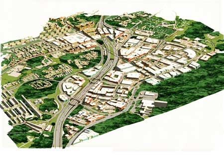 Kungens kurva växer till ny stadsdel med 10 000 nya arbetsplatser