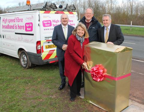 More Malvern businesses set to benefit from superfast fibre broadband in run-up to Christmas