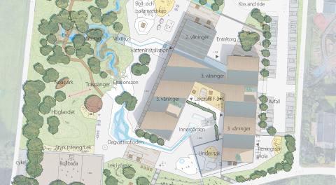 Torslandaskolan, LINK arkitektur