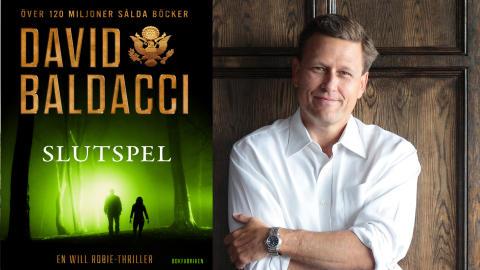 Färsk bok från thrillermästaren