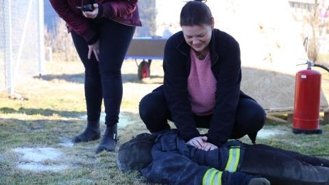 Hemtjänstpersonal ska hjälpa räddningstjänsten