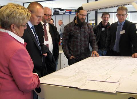 Der Kreisverband Kronach des Bayerischen Gemeindetags traf sich im Bayernwerk-Netzcenter in Naila