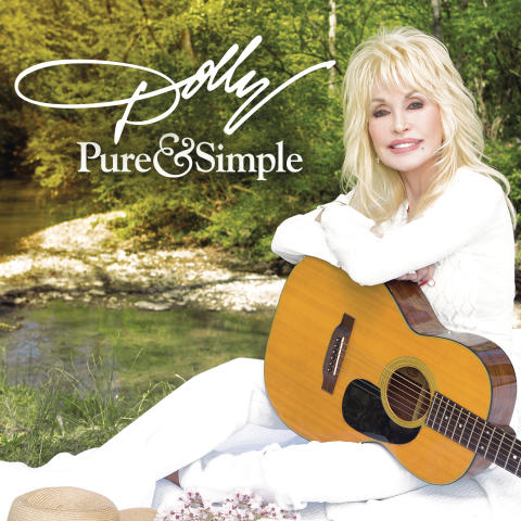 Dolly Parton - albumomslag Pure & Simple