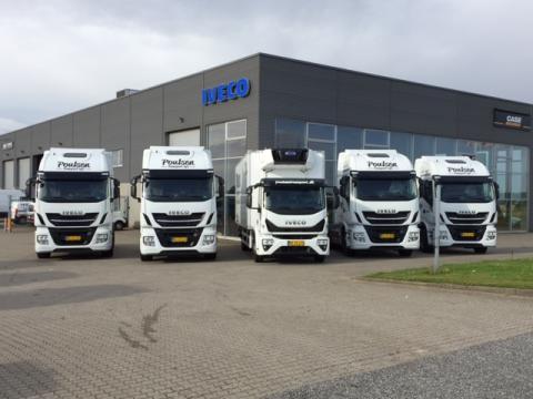 Poulsen Transport indgår aftale om 18 Iveco Stralis