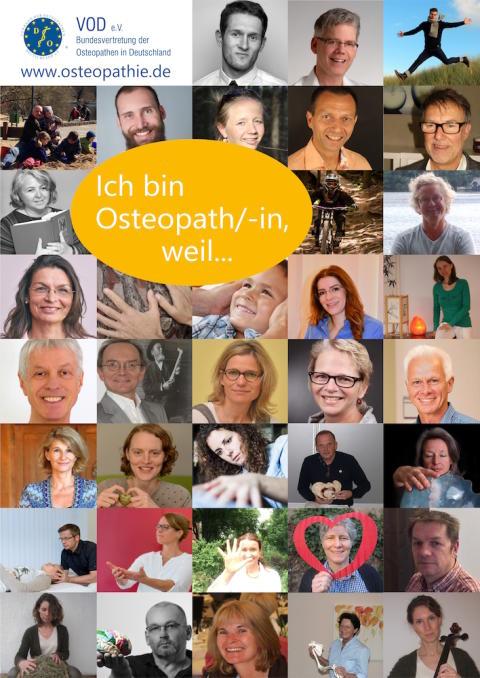 """""""Ich bin Osteopath/in, weil…"""" /  Internationale Osteopathie-Woche vom 17. bis 23. April 2016"""