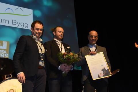 Flexator blir Årets Leanbyggare
