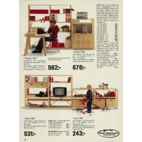 UFFE: IKEA katalogside 1980