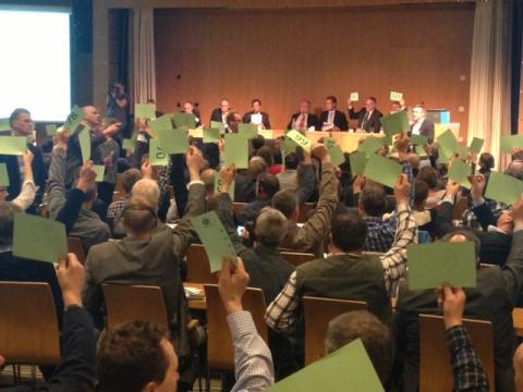 Arlabönderna får dela på över en miljard - Representantskapet röstade ja till disponeringen